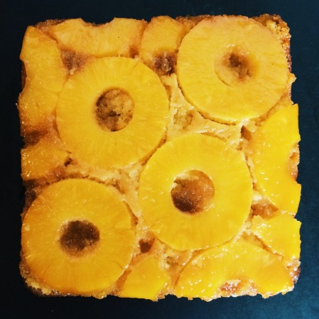 pineapple upside down cake nigellaeatseverything.com