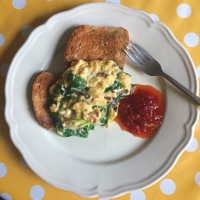 The simple and sublime: scrambled eggs