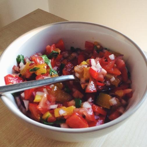 roasted pepper salsa