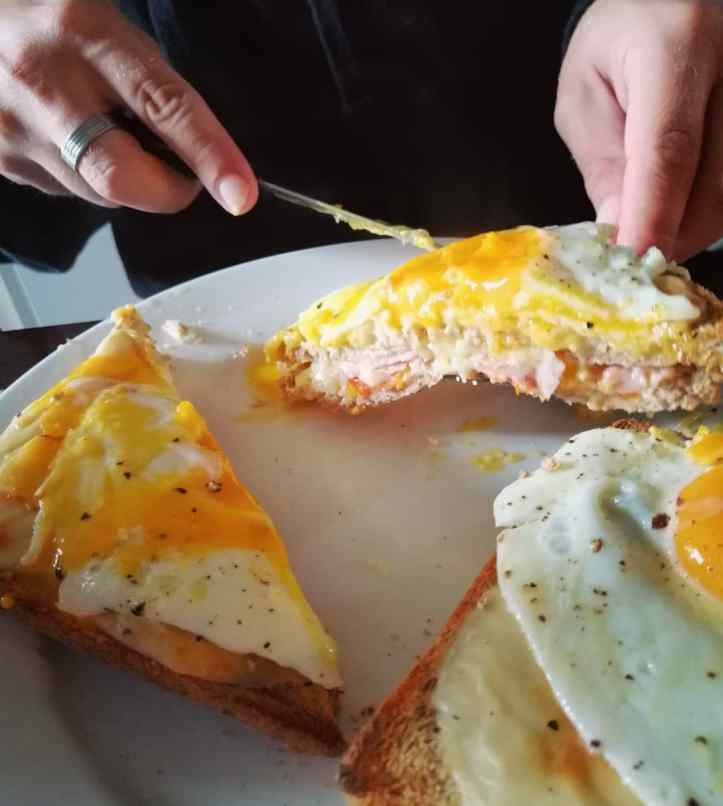 Croque Madame nigellaeatseverything.com