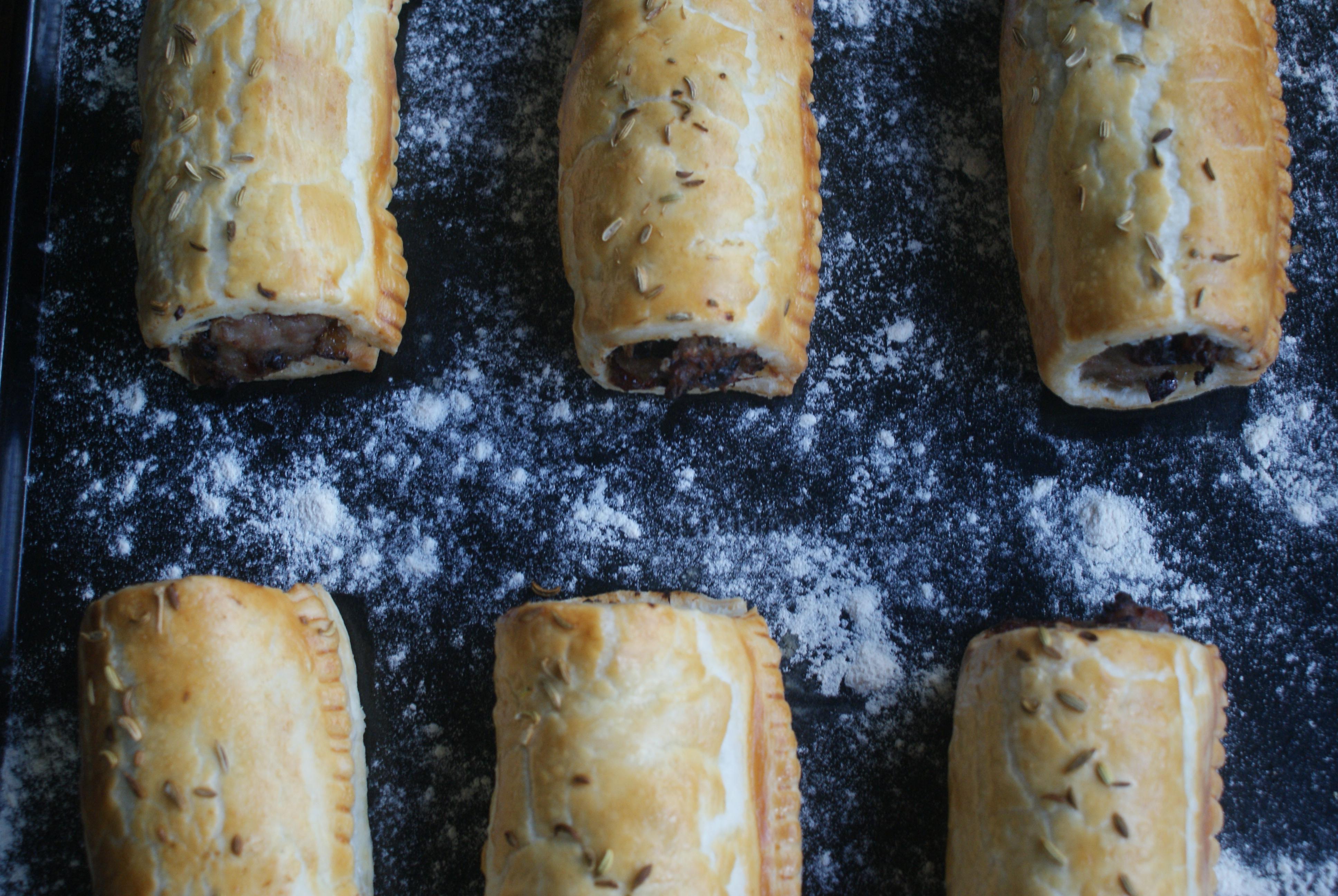 prune and fennel sausage rolls nigellaeatseverything.com