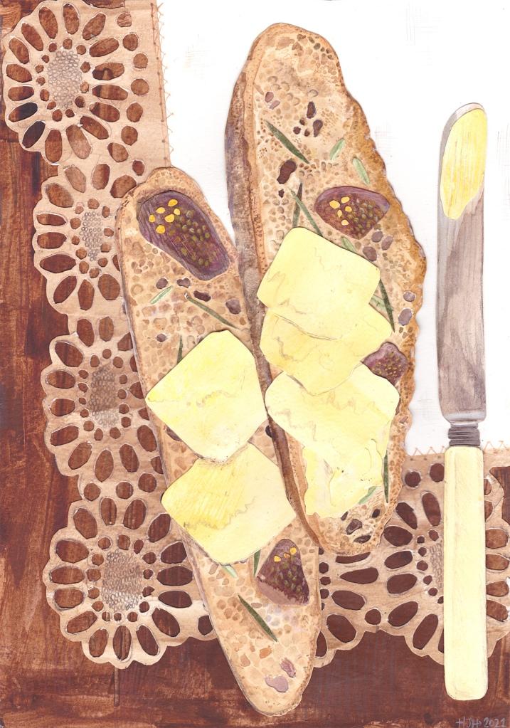 fig, rosemary and fennel soda bread nigellaeatseverything.com