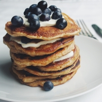 Rice pudding pancakes