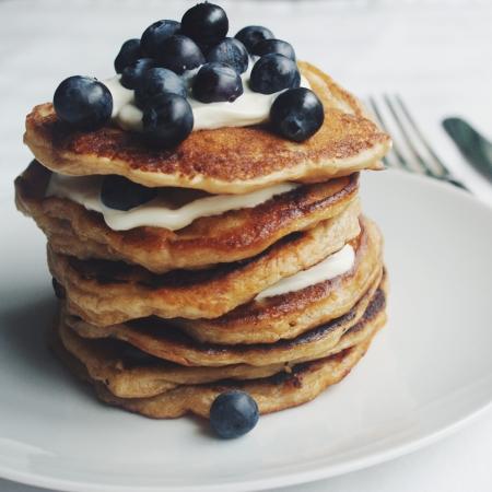rice pudding pancakes nigellaeatseverything.com